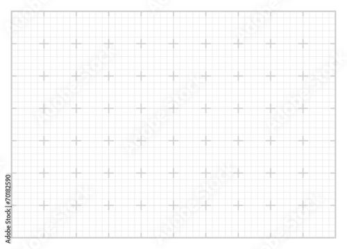 Fotografiet White square grid