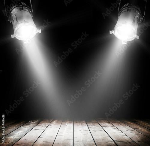 Foto op Canvas Licht, schaduw Light