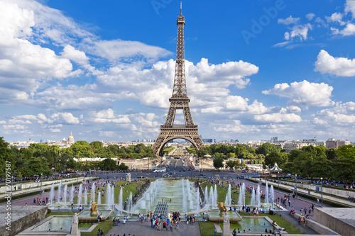 Tuinposter Parijs Paris
