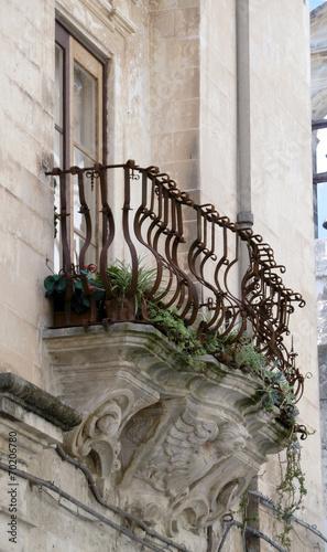 Fotografie, Obraz balcone galatina