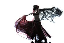 Arabic Woman Belly Dancer Danc...