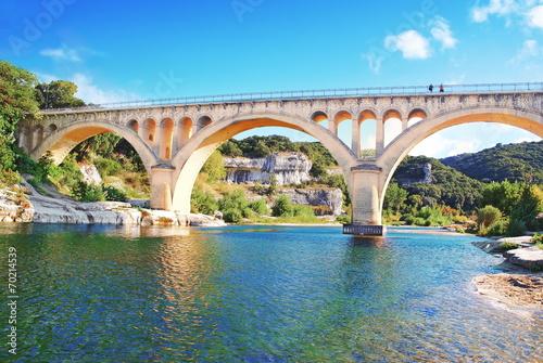 Le pont de Collias sur le Gardon