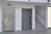 Lift Und Stiegenhaus