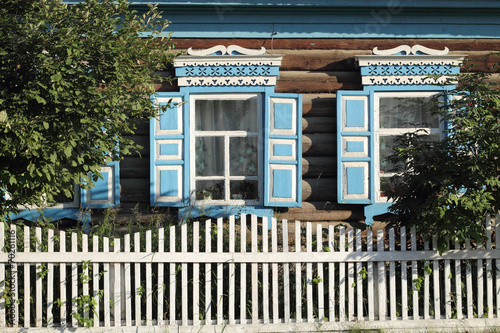 Photo  Maison en bois de Sibérie