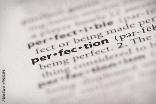 Fotografía Dictionary Series - Attributes: perfection
