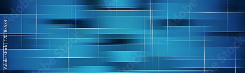 blue tiles abstract background