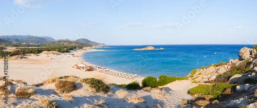 Photo  Chia beach