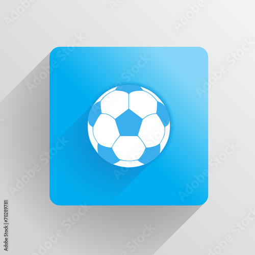 soccer ball sy Canvas Print