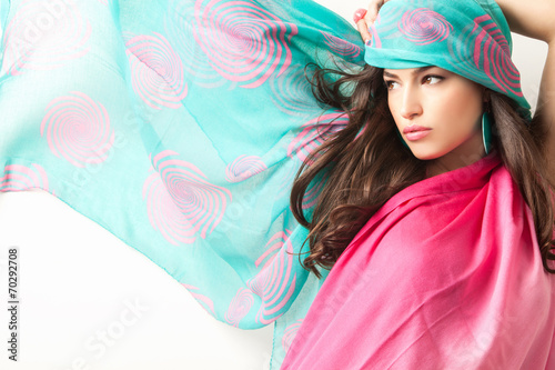 Fotografie, Obraz  fashion portrait