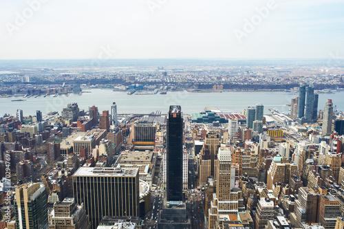 Keuken foto achterwand Seoel Cityscape view of Manhattan from Empire State Building