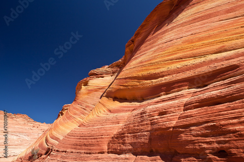 Papiers peints Corail USA - coyote buttes - the wave formation