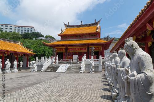 Fotografie, Tablou Confucian Temple (孔子廟) in Nagasaki, Japan
