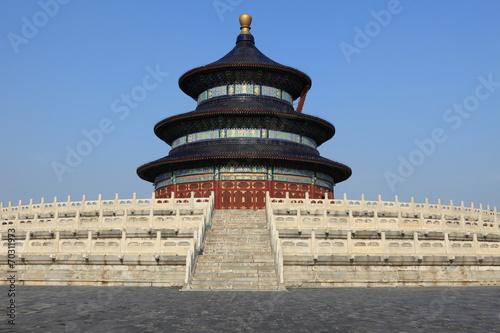 In de dag China Temple of Heaven in Peking China