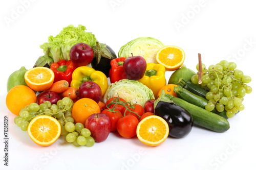 Fotografie, Obraz  Frutta e Verdura