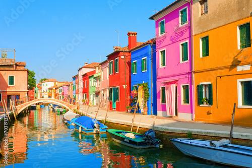 Fototapeta Kolorowa włoska uliczka