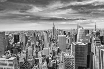 fototapeta piękny widok na panoramę Nowego Jorku