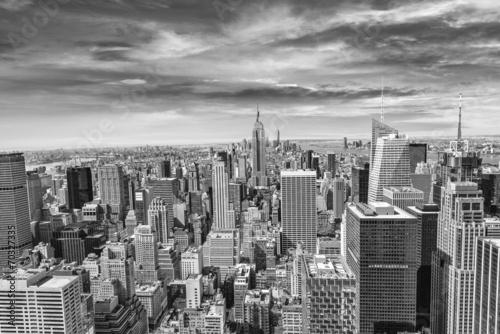 Beautiful view of  New York City skyline Wallpaper Mural
