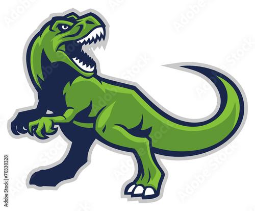 Photo  trex mascot