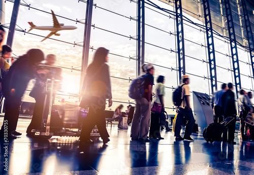 Photographie Passager Dans l'aéroport de Malaisie