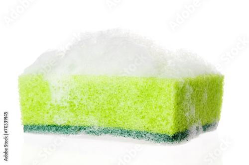 Fotografia, Obraz  Soapy sponge