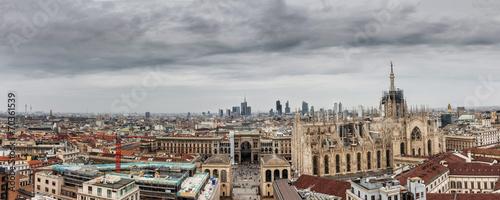 In de dag Milan Milano panoramica