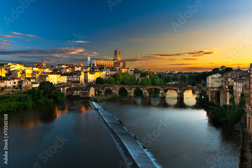 Photo Cityscape of Albi in France