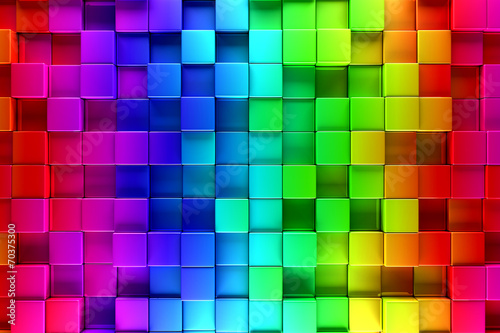 Fototapety do kuchni  colorful-blocks-abstract-background