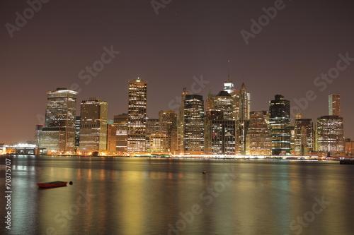 Fototapety, obrazy: Manhattan Island in New York.