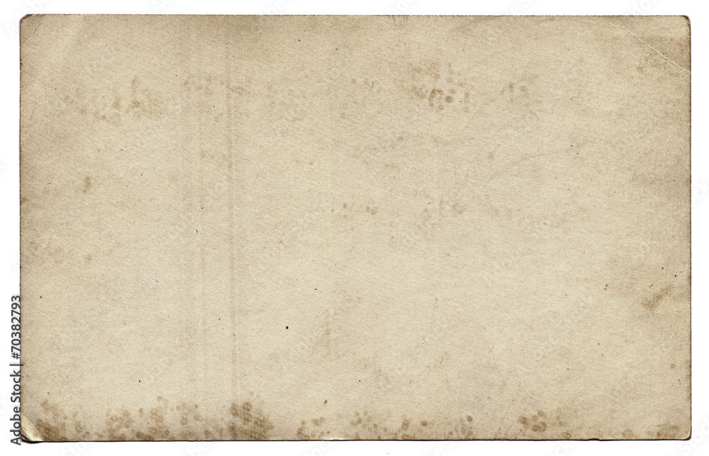 Fototapety, obrazy: Old photo texture with stains and scratches