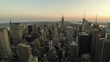 New York Skyline Time Lapse from Day to Night