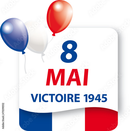 Poster  8 Mai - Victoire 1945