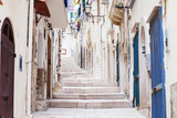 Fototapeta Fototapety na drzwi - Street in Vieste, Puglia, Italy