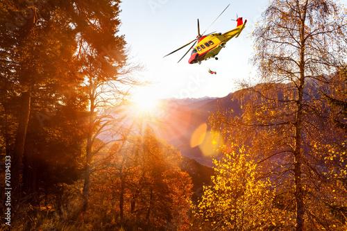 Poster  elisoccorso in montagna