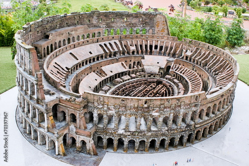 Colosseum, Italy in Miniature Park, Rimini #70397967