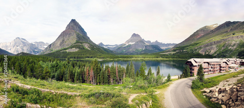 Valokuva  Panorama Glacier Nationalpark (Montana)