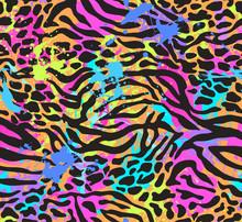 Neon Animal Mix