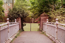 Beautiful Old Metal Fence
