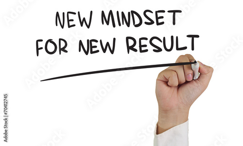 New Mindset for New Result Canvas Print