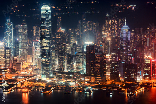 night in hong kong