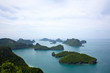 canvas print picture Ang Thong National Marine Park, Thailand