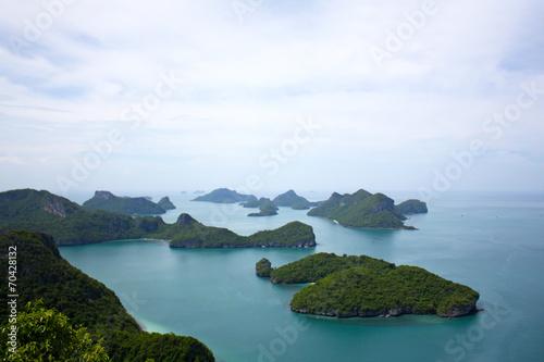 Leinwanddruck Bild - giovanni cardinali : Ang Thong National Marine Park, Thailand