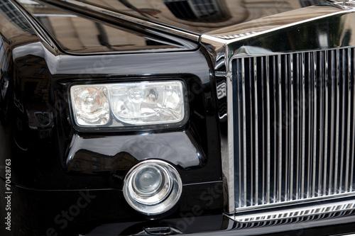 Fotografie, Obraz  face avant voiture de luxe calandre chrome