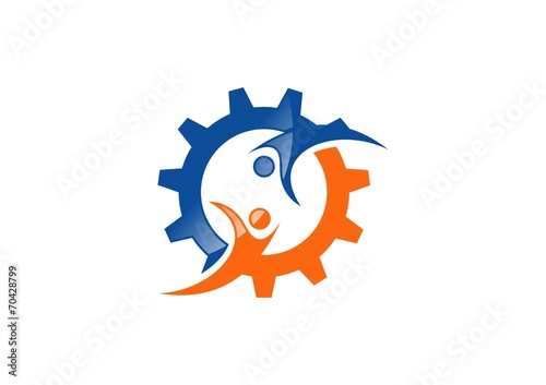 engine mechanical logo gear team work partner symbol icon buy this rh stock adobe com mechanical logo pencils mechanical logic gates