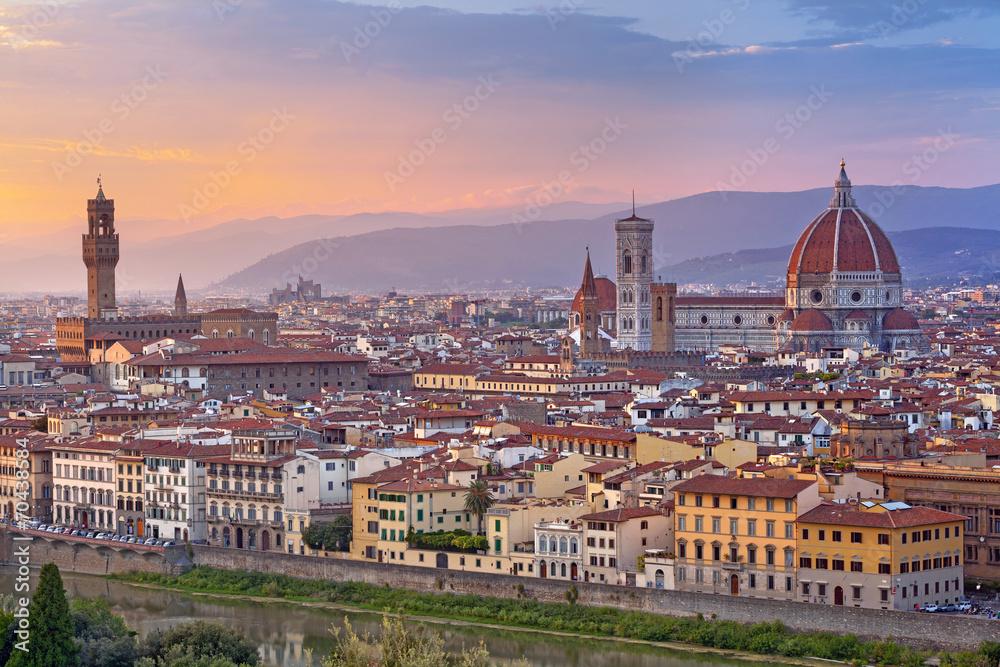 Fototapety, obrazy: Florencja