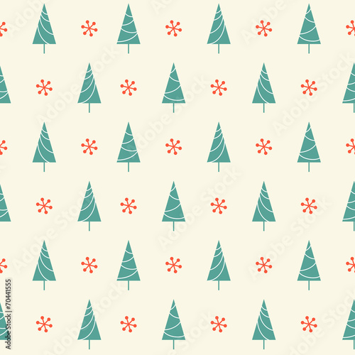 seamless-pattern-with-christmas-trees-and-snowflakes