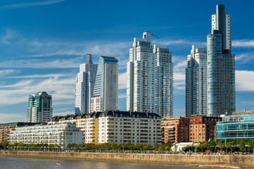 Fototapeta na wymiar Buenos Aires Cityscape, Capital City of Argentina