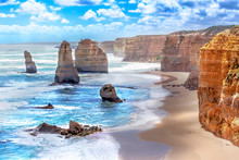 Twelve Apostles Along The Grea...