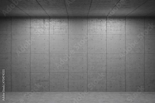 Photo Interior Hintergrund mit Beton