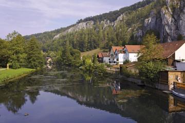 Fototapeta na wymiar Essing an der Altmühl