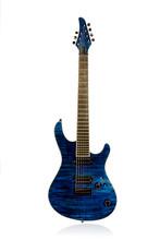 Beautiful Blue Electric Guitar